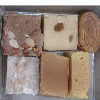 Ghee Assorted Sweets Box (250gms)